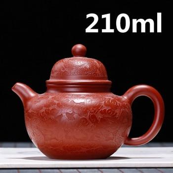 Chinese Ceramic Teapot Clay Tea pot Yixing Zisha Clay Handmade Pots Gongfu Tea Set 210ml New Arrived High Quality With Gift Box