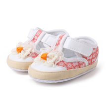 Купить с кэшбэком Shiny Gold Breathable Newborn Baby Shoes Unique Factory Cheap Price Toddler First Walkers