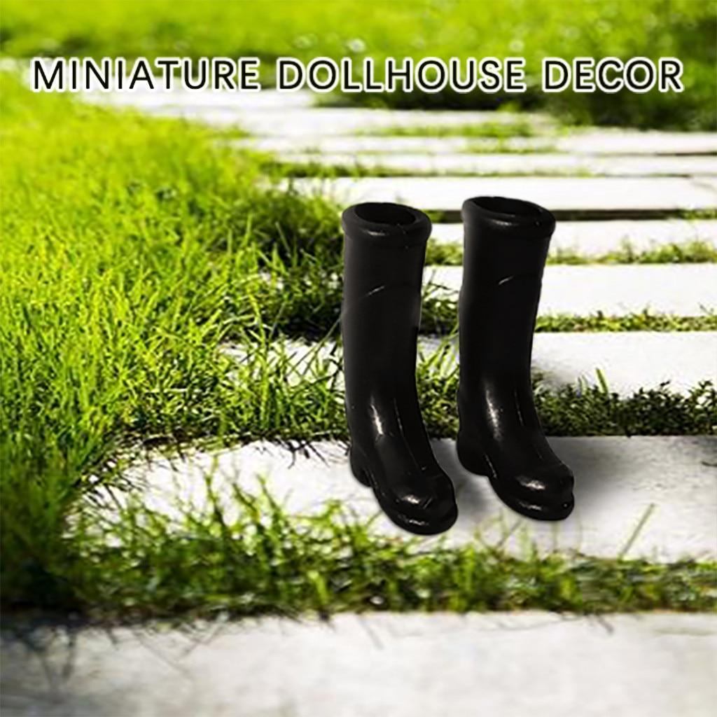 Planta amarillo de plástico 1:12th 6 Casa De Muñecas Miniaturas Jardín