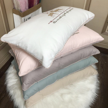 Fashion 20*30CM New Style Pillow Creative Feather Velvet Padding Bedding Home Decoration Supplies