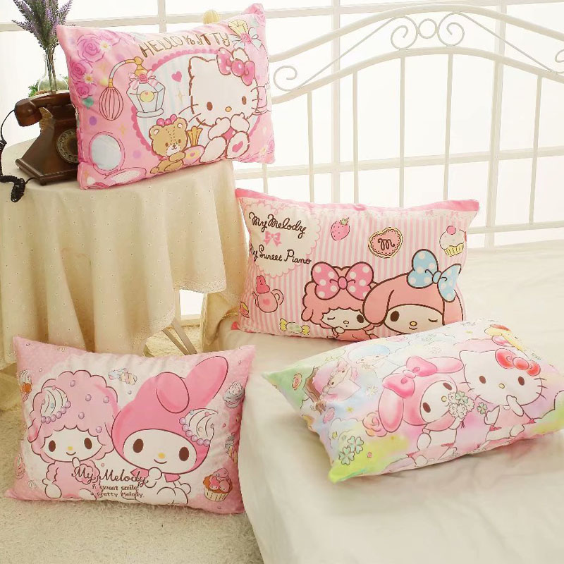 1pc 64cm soft cartoon Melody twins star pudding dog cotton single pillow case cover pillowcase lady romantic gift baby girl toy