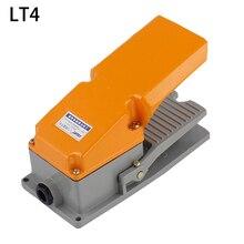 LT4 ножной переключатель алюминиевый чехол Педальный переключатель для управления механическим инструментом серебряный контакт