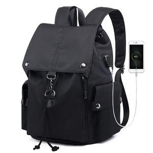 Модный рюкзак для ноутбука, черный, розовый рюкзак с usb-зарядкой для компьютера, школьная сумка для Lenovo Thinkpad Huawei 14 15 дюймов, сумки для ноутбук...
