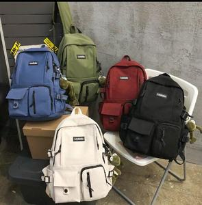 New Korean style junior high school student schoolbag Harajuku ulzzang college style backpack OEM backpack