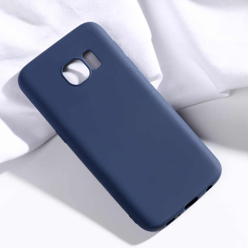 Voor Samsung Galaxy S7 Case Candy Kleur Soft silicone Cover Voor Samsung Galaxy S7 G930 G9300 G930F G930FD Case GalaxyS7 covers