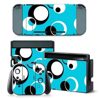 Cartoon custom design printing sticker for Nintendo Switch NS NX console 2