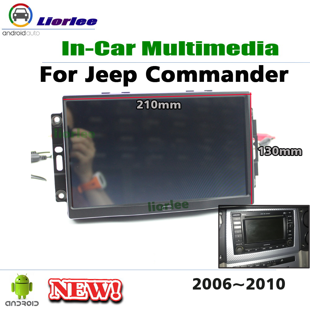 Car Multimedia Player For Jeep Commander 2006~2010 Radio Android Navigation GPS Stereo Screen NAVI System image