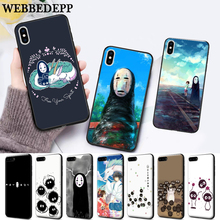 WEBBEDEPP Spirited Away Ghibli Miyazaki Silicone soft Case for iPhone 5 SE 5S 6 6S Plus 7 8 11 Pro X XS Max XR