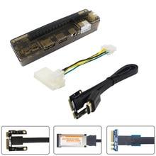 Pci-e exp gdc placa gráfica portátil externo doca placa de vídeo portátil docking station opção mini pci-e | ngff m.2 a chave | expresscarad