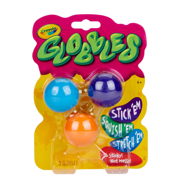3ct Globbles Fidget Toy for Kids Halloween Decorations for Home Fall Party Decor Christmas Decorations