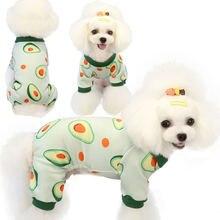 Печатанные кошкой одежда с принтом в виде собак комбинезон для