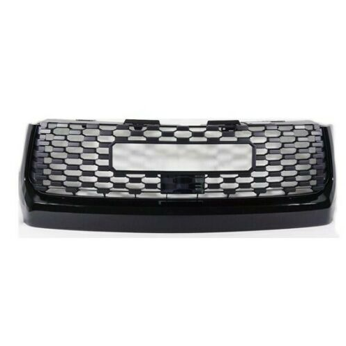 Front Grille For Toyota Tundra 2018 2019 Grill Hood Bulge Radar Sensor Cover