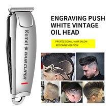 Tondeuse à cheveux professionnelle, rasoir électrique Kemei 2812, rasoir électrique à 0mm, outil de coiffure tondeuse à barbe