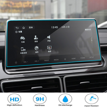Tempered Glass Screen Protective Film For KIA K3 Cerato KX5 2019 Car Navigation Radio DVD GPS Multimedia LCD Screen Guard image
