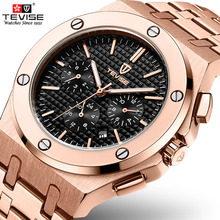 Tevise Top Brand Luxury Golden Automatic Mechanical Watches Men Watches Sport Self Winding Wristwatch For Male Relogio Masculino