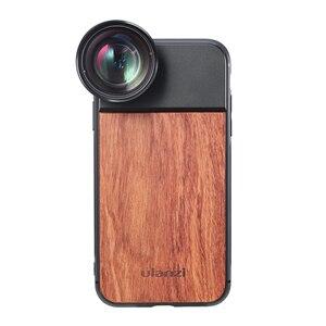 Image 3 - Ulanzi 1.33X anamorphic電話レンズ 10Xマクロレンズ電話ケースiphone 11 プロマックス 17 ミリメートルスレッド木製電話ケース
