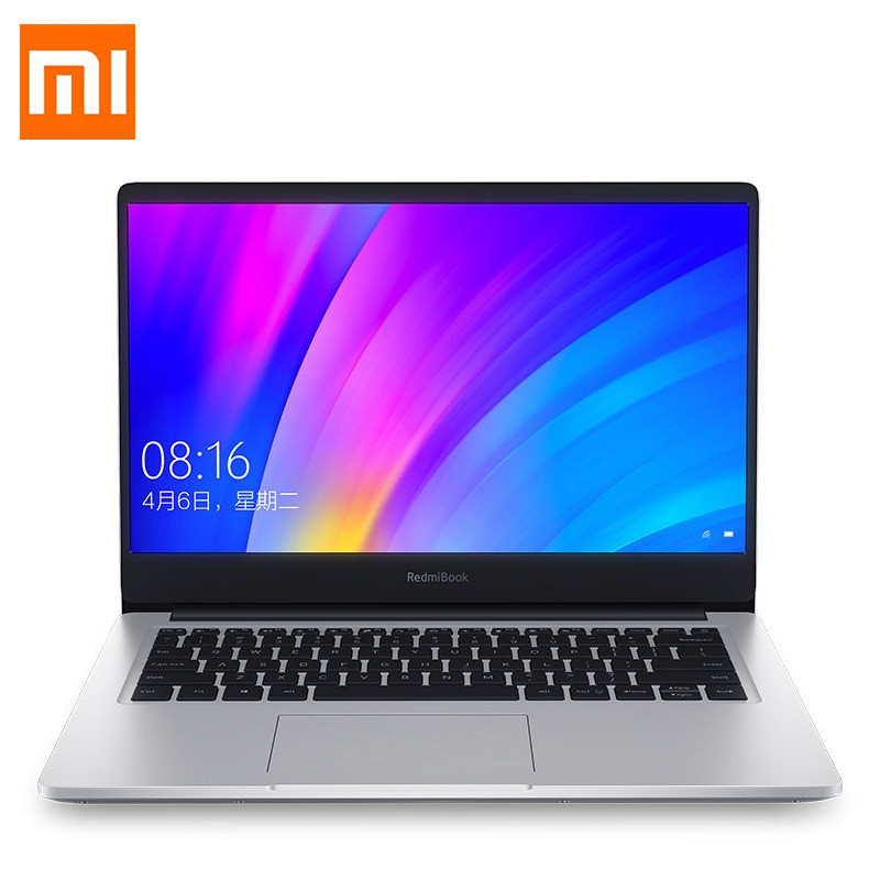Xiaomi RedmiBook 14 Inch Laptop Intel Core I7-8565U NVIDIA GeForce MX250 Quad Core DDR4 8G RAM 512GB SSD Ultra-Thin Notebook