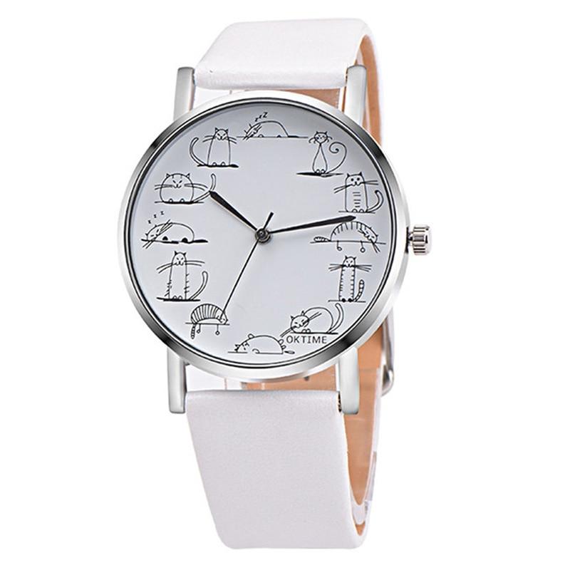 2020 Ladies Watches Casual Women Watches Cat Watches Female Wristwatches Quartz Cheap Price Dropshipping Relogio Feminino