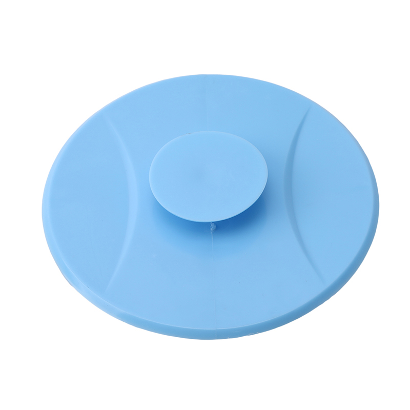 1pc Kitchen Bathroom Suction Cup Silicone Foor Drain Pool Cover Bathroom Pool Sink Leakproof Odor Resistant Water Plug Stopper