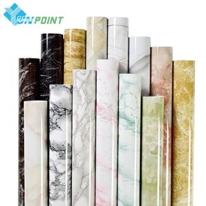Modern Marble Sticker Bathroom Waterproof Wall Sticker Kitchen Bar Counter Decorative Film Furniture Self-adhesive PVC Wallpaper