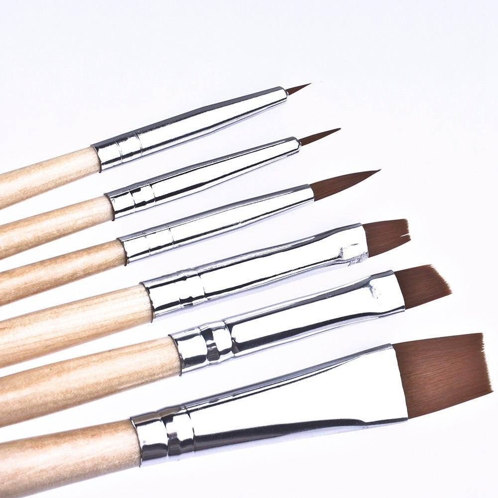 Makeup Brushes Set Professional Beauty Make Up Brush Including Eye Brush Lip Brush Face Brush And Body Brush 6Pcs/Set