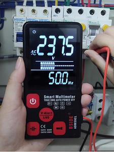 BSIDE Digital Multimeter Hz-Tester Lcd-Display Capacitance Ultra-Portable DC Ohm NCV