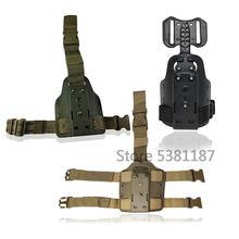 Holster de pistolet de chasse tactique, adaptateur de plate-forme, Holster de jambe, pagaie Safariland Colt1911/GL17 M9 USP SigP226