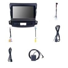 Android 9,0 автомобильный Dvd Gps мультимедийный плеер радио для Mitsubishi Outlander 2006- peugeot 4007/Citroen C-Crosser 2.5D