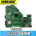 X550CA материнская плата rev: 2 0 I5-3337 4 ГБ для ASUS R510CA X550C A550C X550CC материнская плата для ноутбука X550CA материнская плата X550CA материнская плата