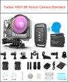 Yarber 8 k ação esportes câmera wifi 4 k 60fps capacete da bicicleta câmeras de ação 40 m impermeável mergulho vídeo traço cam com controle remoto app