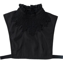 Faux colliers brodés pour femmes, mode Aux, chemise détachable réglable, accessoires, printemps