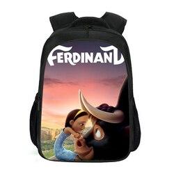 Ulepszony plecak dwuwarstwowy Versio Fredinand wzór plecak dla dzieci Mochila Infantil Ralph tornister śliczny plecak dla dzieci