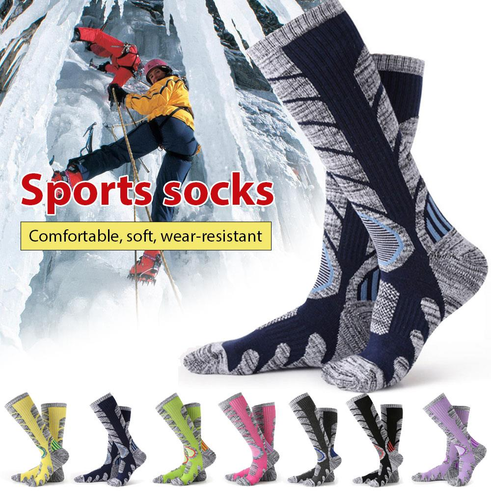 Hosiery Practical Sturdy RB3301 Multicolor Nylon Keep Warm Perspiration Motion Hiking Socks Durable Autumn And Winter Outdoors