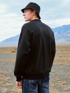 Image 4 - Pioneer Camp mode épais sweat à capuche pour homme hiver chaud polaire 100% coton casual Streetwear sweats pour hommes AWY901305