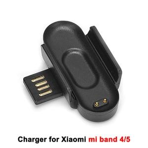 Image 4 - Зарядное устройство для Xiaomi Mi Band 2 3 4 5, зарядный кабель для передачи данных, док станция, зарядный кабель для Mi Band 5 4, зарядное устройство USB OTG адаптер