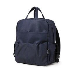 Рюкзак для подгузников для новорожденного ребенка, водонепроницаемая кожаная сумка для мам, большая Вместительная дорожная сумка для ребе...