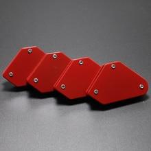 9LB 1 шт. треугольник-Сварочный позиционер Магнитный фиксированный угол пайки локатор инструменты припой джиг без переключателя сварочные аксессуары