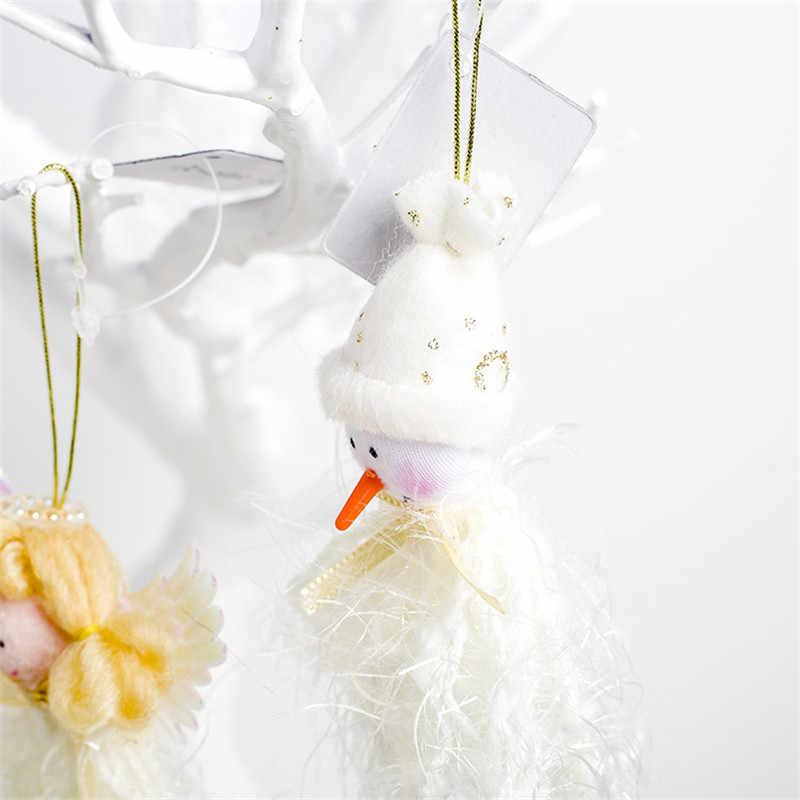 Wisiorek świąteczny anioł projekt Xmas zawieszka na choinkę ozdoba dekoracyjna przyjęcie świąteczne materiały dekoracyjne Produtos De Natal Kerst