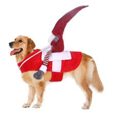 Рождественская забавная Новинка одежда для домашних животных