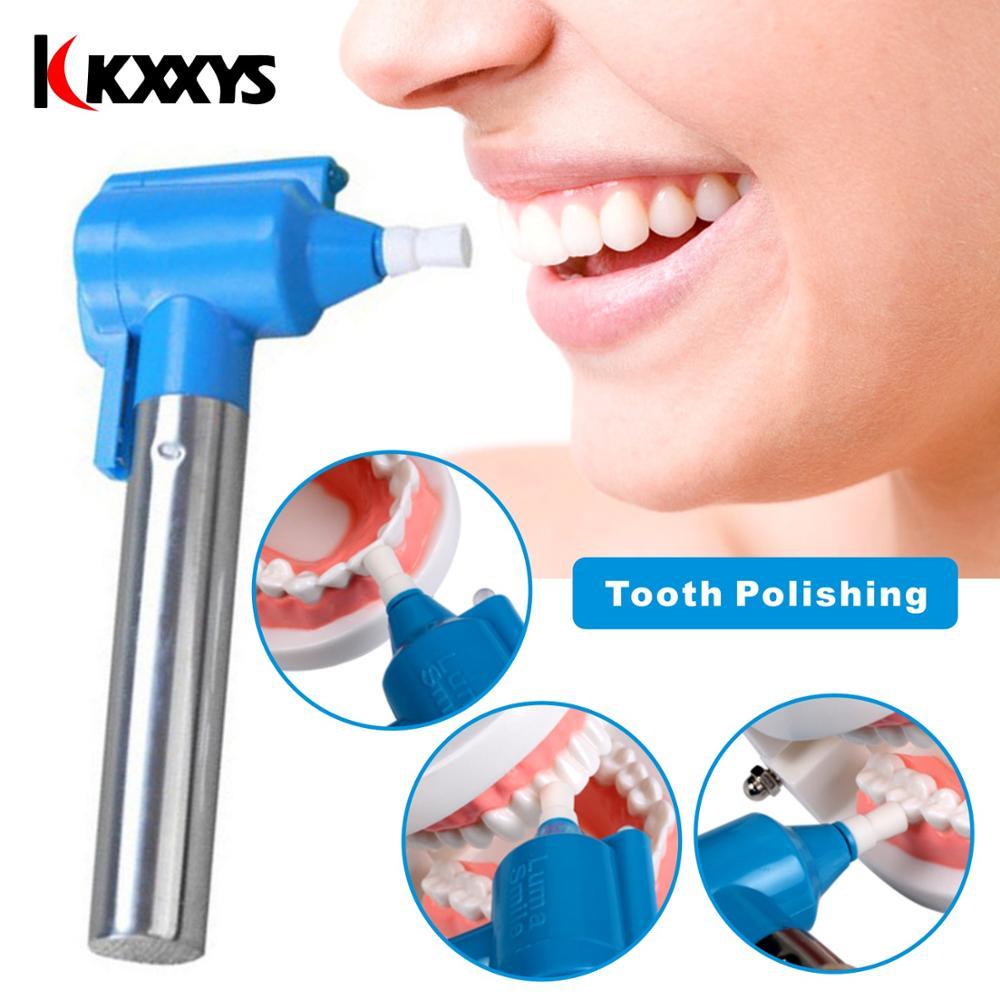 Dente Dentale Burnisher Lucidatura Dei Denti Sbiancante Sbiancamento Lucidatore Stain Remover Strumento Macchia Di Rimozione
