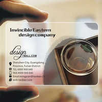 500pcs Clear Print PVC ID Cards Transparent Plastic Round Business Card Design Calling Waterproof Cards Custom Printing 85*54mm