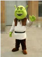 High Quality New Shrek Mascot Costume Cosplay Costume Adult Size For Halloween Birthday Party