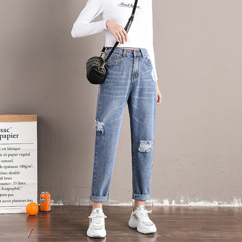 Jeans De Cintura Alta A La Moda Para Mujer Vaqueros De Mezclilla Rayados Pantalones Vaqueros Informales Para Mujer Vaqueros Elegantes De Calle Alta Otono Nueva Llegada Pantalones Vaqueros Aliexpress