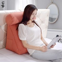 1PC Rest Pillow Back Support Cushion For Sofa Stereo Triangular Backrest Cushions For Bed Rest Pillow Protect Lumbar Home