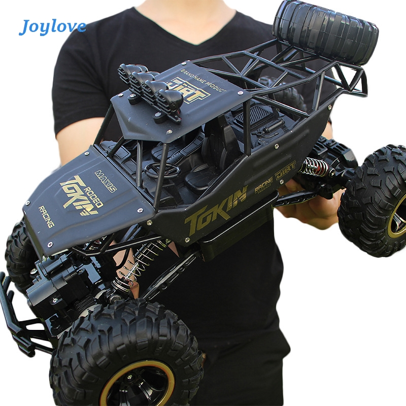 JOYLOVE RC Car Updated Version 2.4G Radio Control RC Car Toys 2020 High Speed Trucks Off-Road Trucks Toys For Children