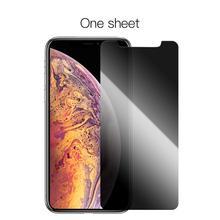 Temperli cam iPhone 11 Pro 2019 gizlilik koruma ekran koruyucu iPhone 11 Pro Max koruyucu film 9H 2.5D Anti