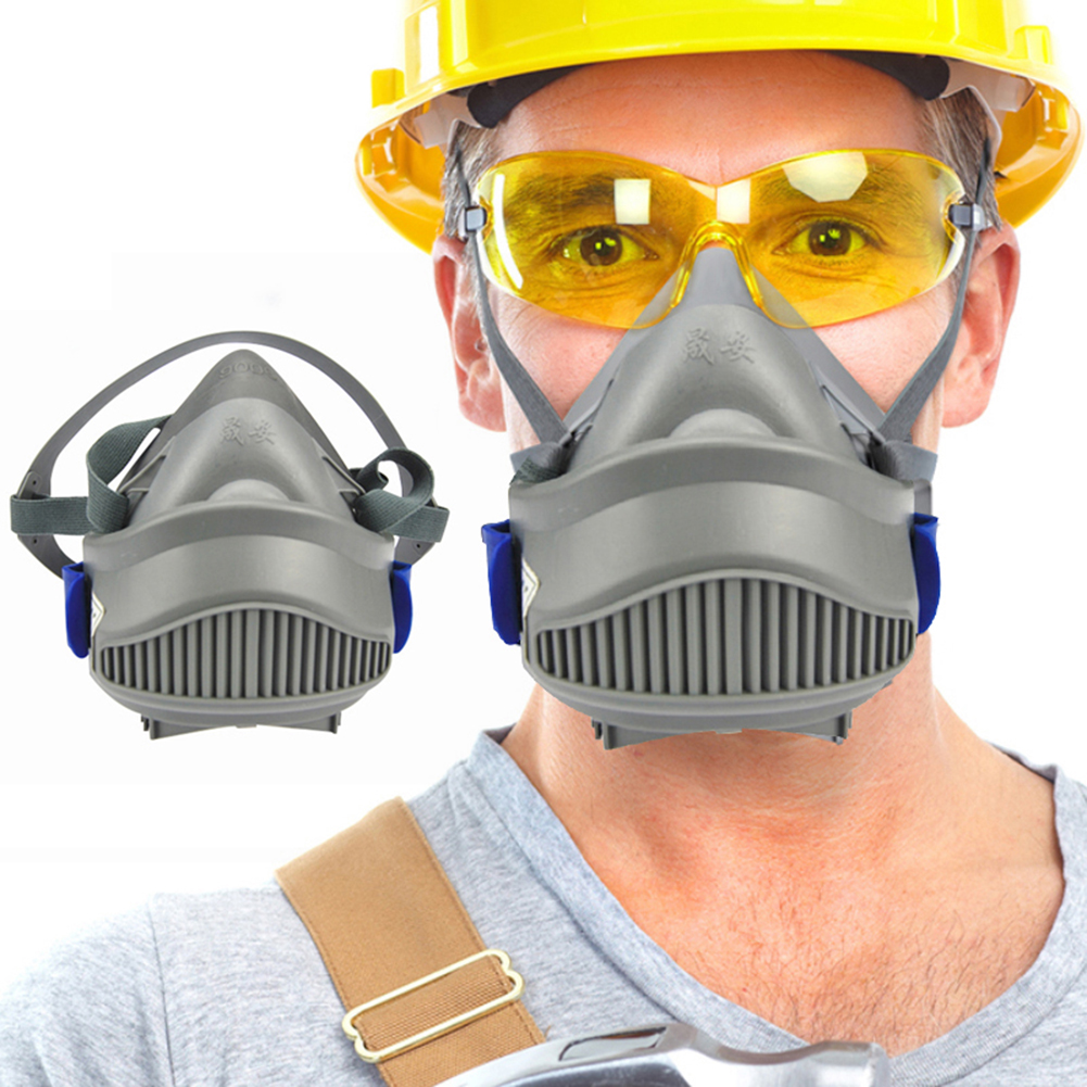 9006 Industrial Anti PM2.5 Respirator Dust Mask Half Face Gas Mask Respiratory Dust proof Protective High Efficiency Filters|Masks| |  - title=