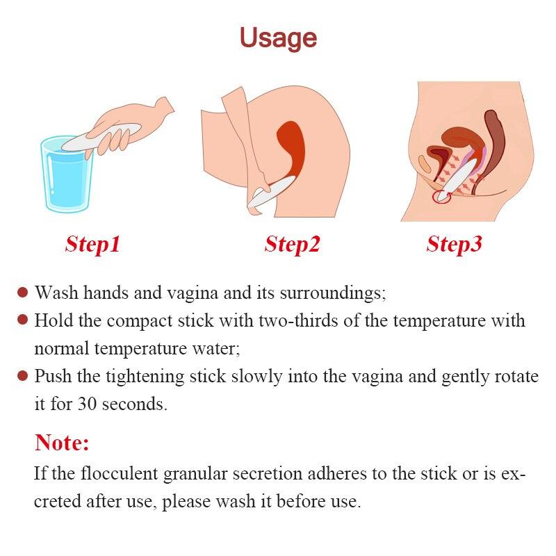 Feminine hygiene vagina tightening reduce Yam vagina wand Russian Language Instructions 75g vagina shrinking narrow vagina stick in Feminine Hygiene Product from Beauty Health