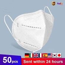 20Pcs Face Mouth Mask 5 Layer Dustproof Anti-fog Fa