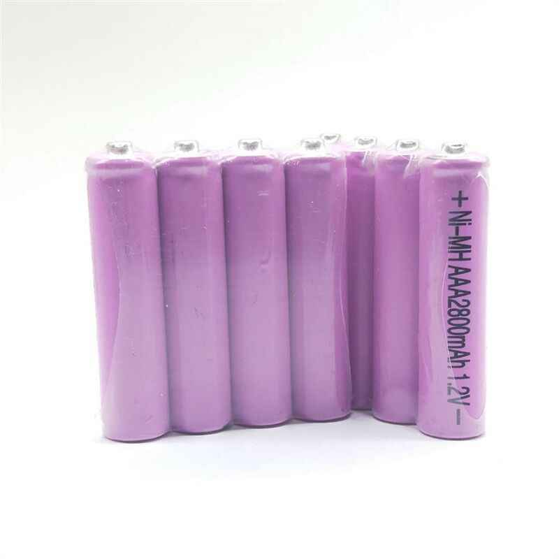 High quarity 4PCS A LOT AAA Ni-MH 2800mAh 1.2V nimh AAA Battery aaa NiMH Rechargeable Batteries 3A 3a